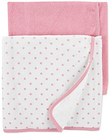Baby Girls 2-Pk. Terry Cloth Towels