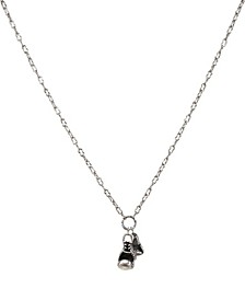 Ox Chain Necklace with Boxing Glove Charm