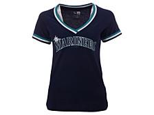 Seattle Mariners Women's Contrast Binding T-Shirt