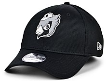 St. Louis Cardinals 2020 Clubhouse Black White 39THIRTY Cap