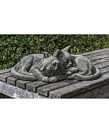 Nap Time Kittens Garden Statue