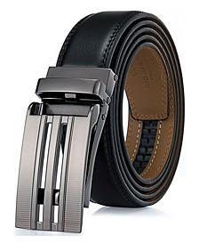 Men's Linxx Designer Ratchet Leather Belt