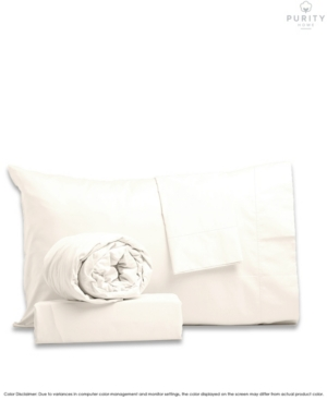 Purity Home Percale Weave Deep Pocket Cotton Sheet Set King Bedding