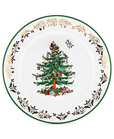 Spode Christmas Tree Gold Round Charger