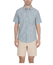Mountain And Isles Men's 1 Pocket Sun Protection Button Down Performance Shirt