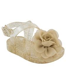Baby Girls Glitter Jelly Sandal