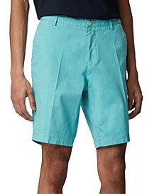 BOSS Men's Light Pastel Blue Slice-Shorts