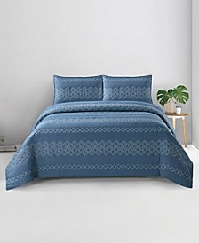 Hadley  Zarine Full/Queen 3PC Quilt Set