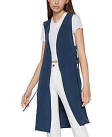 BCBGeneration Lace-Up-Side Vest