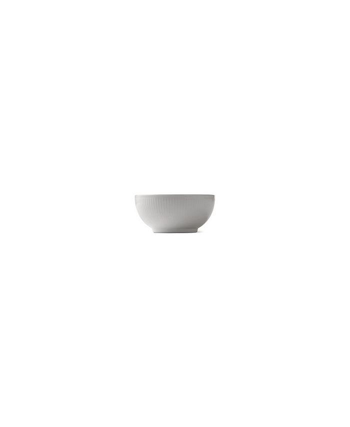 Royal Copenhagen - WHITE FLUTED BOWL 1 PINT