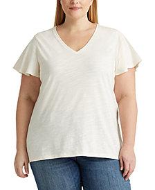 Lauren Ralph Lauren Plus Size T-Shirt