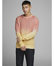 MEN'S PULLOVER  SWEATER CREW NECK