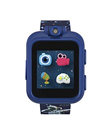 PlayZoom Navy Blue Smartwatch for Kids Spaceman Print 42mm