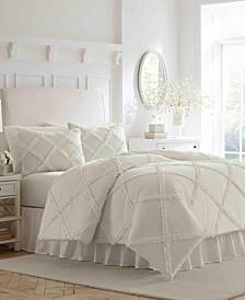 Maeve Ruffle King Comforter Set