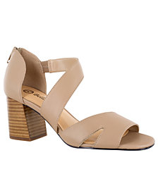 Bella Vita Korrine Women's Block Heel Sandals