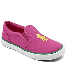 Little Girls Bal Harbour II Slip-On Casual Sneakers from Finish Line