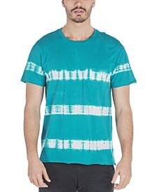 Men's Palmette Tie-Dyed Stripe T-Shirt