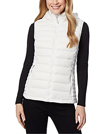 Packable Hooded Puffer Vest, Created for Macy's