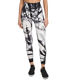 Sport Tie-Dyed High-Waist Leggings