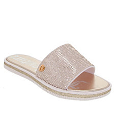 Juicy Couture Women's Yippy Beaded Slide Sandals