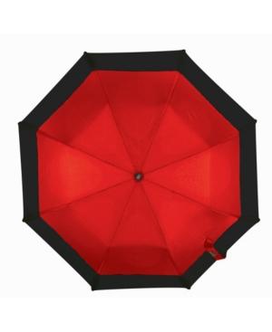 Wind Resistant Auto Open/Auto Close Folding Umbrella