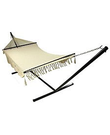 Deluxe 2-Person Hammock with Spreader Bars