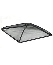 """Outdoor Heavy Duty Square Fire Pit Lid Protector 24"""""""