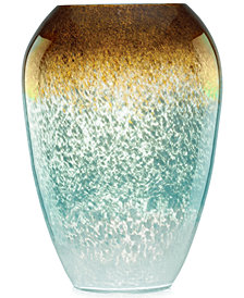 Lenox Gifts, Seaview Ombre Urn Vase 12""