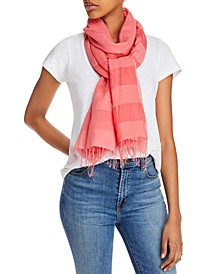 Striped Organic Scarf