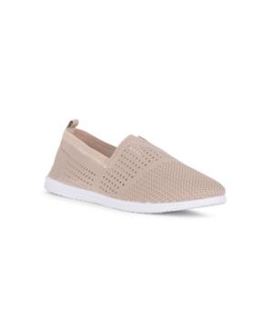 Kadence Slip On Knit Athleisure Flat Women's Shoes