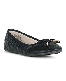 ADORE Ballet Flat with Quilted Upper