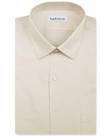 Men's Classic-Fit Herringbone Dress Shirt