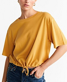 Adjustable Cord T-Shirt
