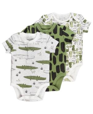 Mac & Moon Baby Boy 3-Pack Bodysuits