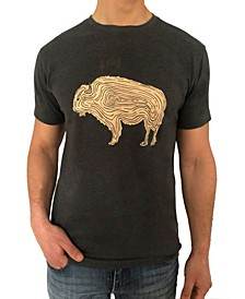 Men's Buffalo Wood Graphic Tee
