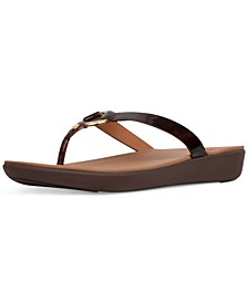 Women's Hoopla Tortoiseshell Toe-Thongs Sandal