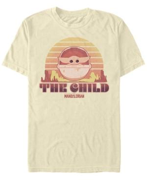 Fifth Sun Men's Sunset Child Short Sleeve Crew T-shirt