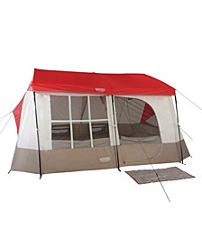 Kodiak 9 Person Family Cabin Style Camping Tent with Divider