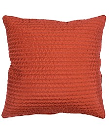 "Solid Decorative Pillow Cover, 22"" x 22"""