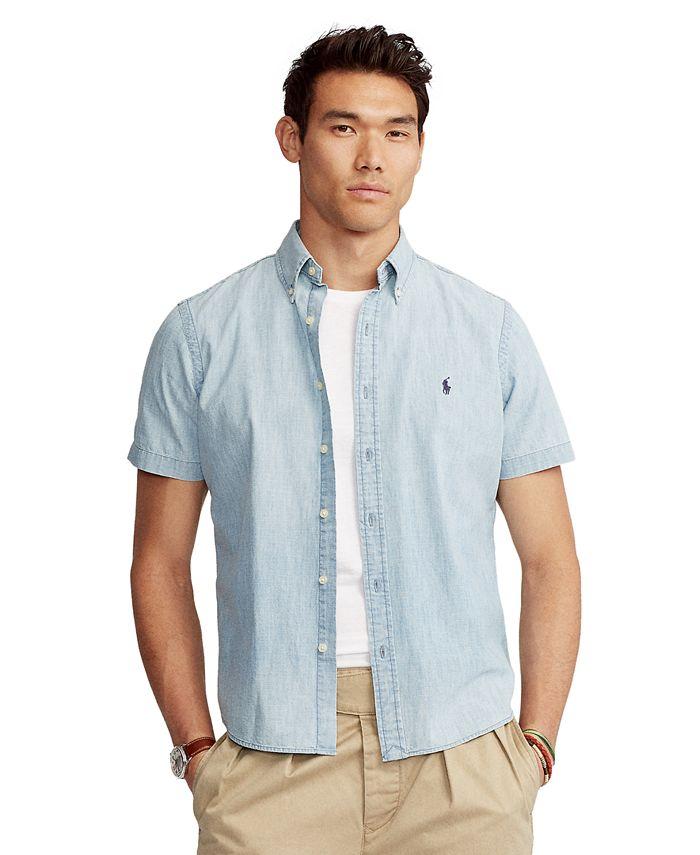 Polo Ralph Lauren - Men's Classic-Fit Chambray Shirt