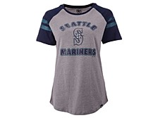 Seattle Mariners Women's Fly Out Raglan T-shirt