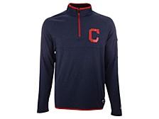 Cleveland Indians Men's Brushback Quarter-Zip Pullover