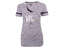 New York Yankees Women's Space Dye T-Shirt