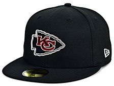 Little Boys Kansas City Chiefs Draft 59FIFTY Fitted Cap