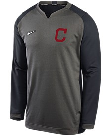 Men's Cleveland Indians Authentic Collection Thermal Crew Sweatshirt