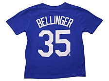 Los Angeles Dodgers Kids Cody Bellinger Name and Number Player T-Shirt