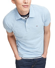 Men's Slim-Fit Stretch Polo Shirt