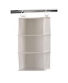 3-Shelf Hanging Closet Organizer