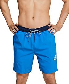 "Men's Redondo Performance Stretch 8"" Swim Trunks"
