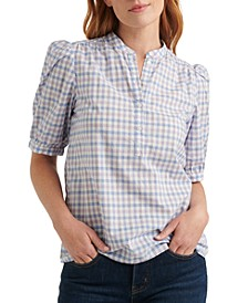 Cotton Popover Poet Top